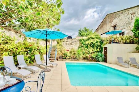 Vine Cottage & pool an hour to  Bordeaux/Bergerac
