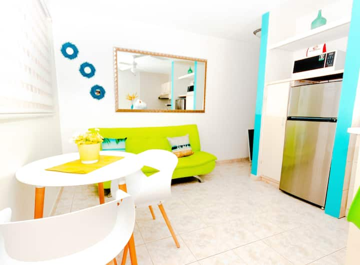 Fall style One bedroom apartmet -Aruba Island