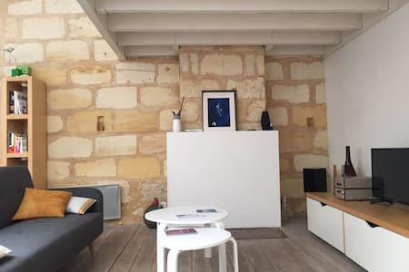 Appartement loft Bordeaux centre-climatisé