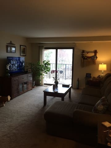 Spacious quiet retreat in Allentown - Allentown - Apartment