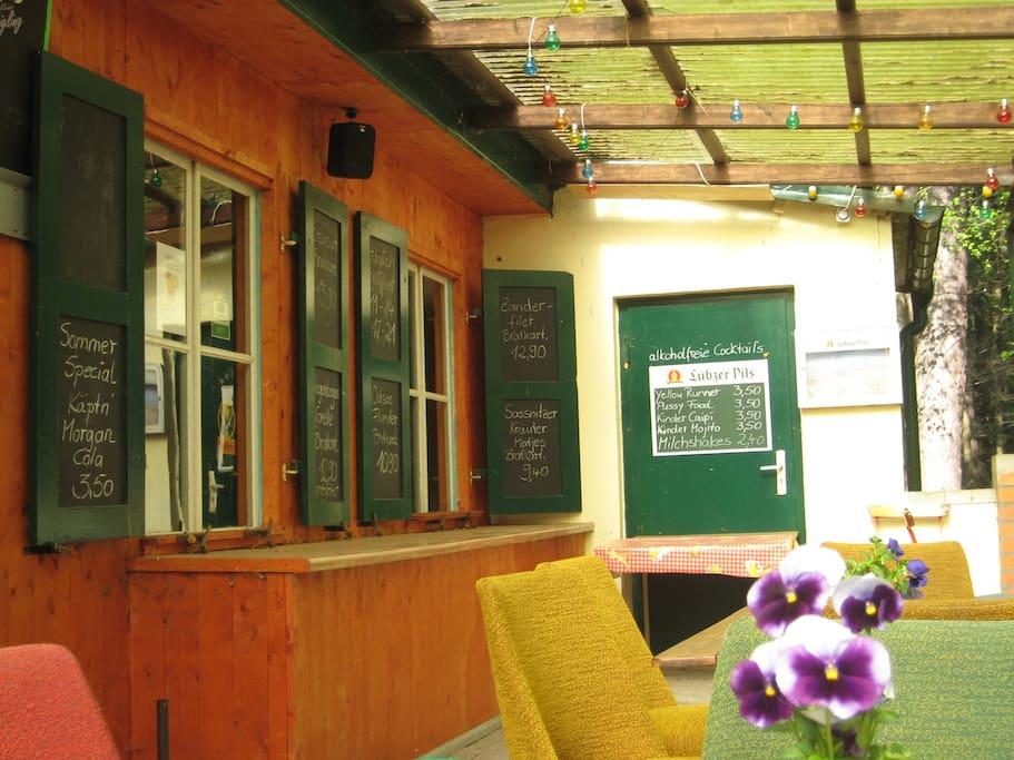 Restaurant in der Ferienanlage