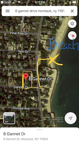 2 minute walk to private community beach access, Culloden Shores