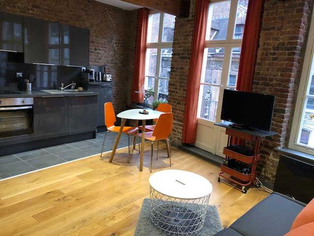 Charmant studio typique du Vieux Lille