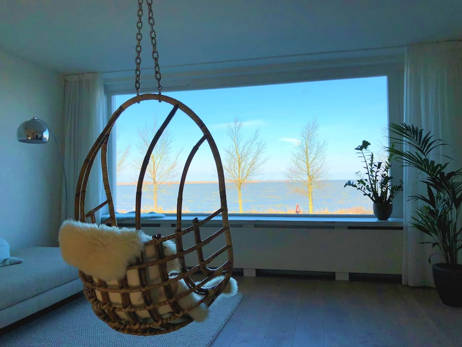 Lounge Overlooking the Lake