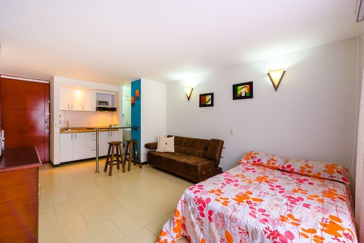 Cómodo apartaestudio, Excelente ubicación - Bogotá - Appartement
