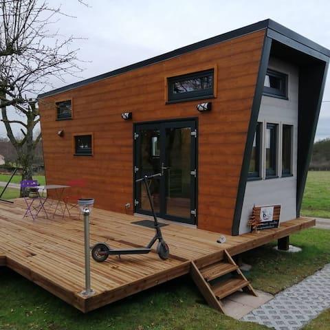 """Tiny House avec sauna """"Ô p'tit nid Milie"""""""