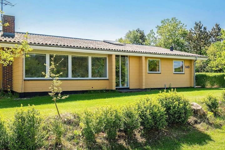Serene Holiday Home in Jutland with Sauna