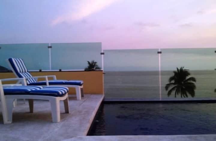 Tan cerca del mar! En Playa Azul Las Brisas