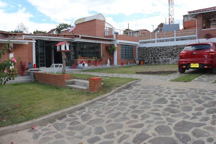 Casa de descanso en Chachagui cerca a Pasto...