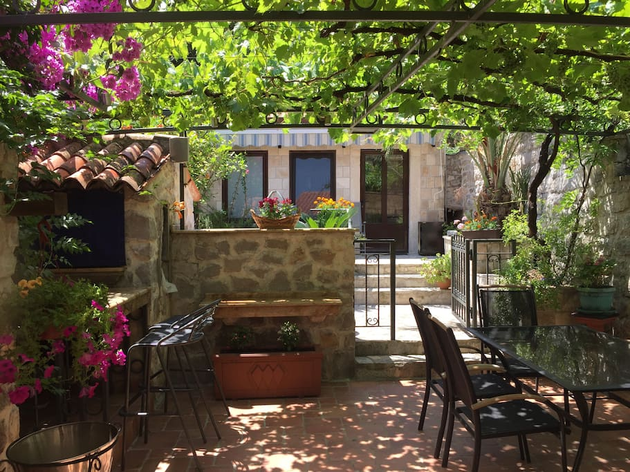 Few properties have Kotor Bay Views like ours, but even fewer have a walled private back garden that matches this!