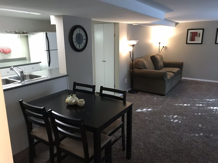 Downtown private one bedroom suite