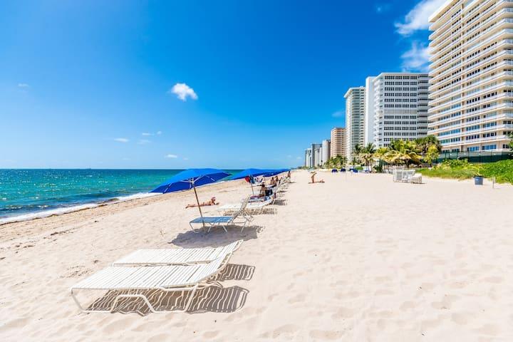 "Ft. Lauderdale Ocean Beach Condo 3BR ""On The Sand"""