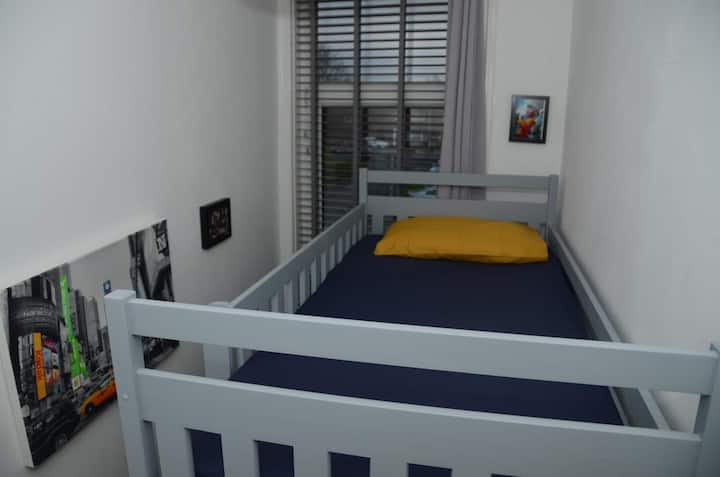 Single Room with Bunk Bed in a Spacious House