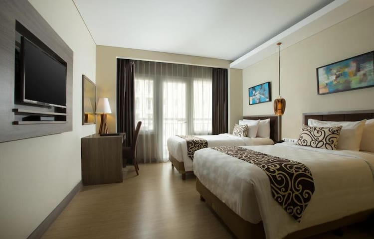 Enjoyable Twin Deluxe At Central Jakarta