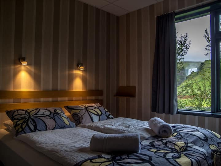 Hotel Skogafoss - Double room with waterfall view
