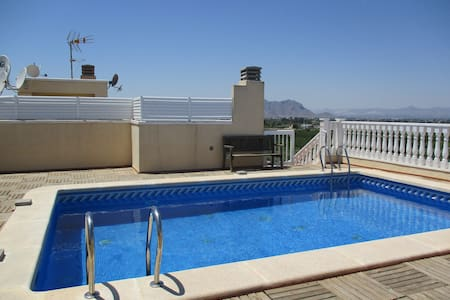 La Finca Golf apartment with Pool - Algorfa