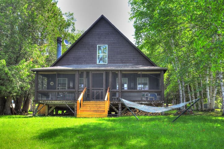 Casino - Cabin in the Barker Loop Cottage with it's own private, sandy beach!