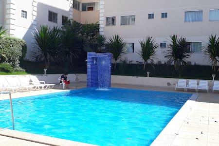Resort em Caldas Novas: Flat para 5 pessoas