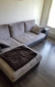 Chambre chaleureuse et spacieuse - Apartment