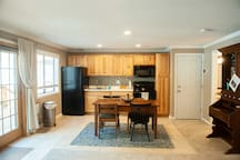 Eat in kitchen to enjoy the company of one another while prepping your lunches and dinners for the day.