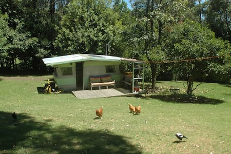 Comfy caravan in our garden - North Narooma