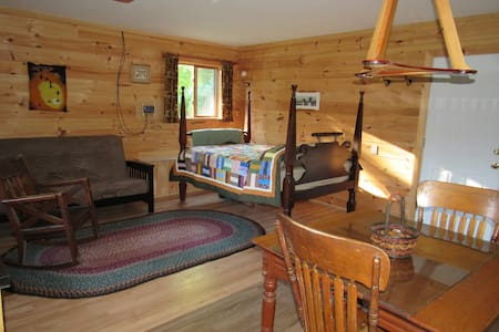 Yankee Springs Off the Grid Cabin