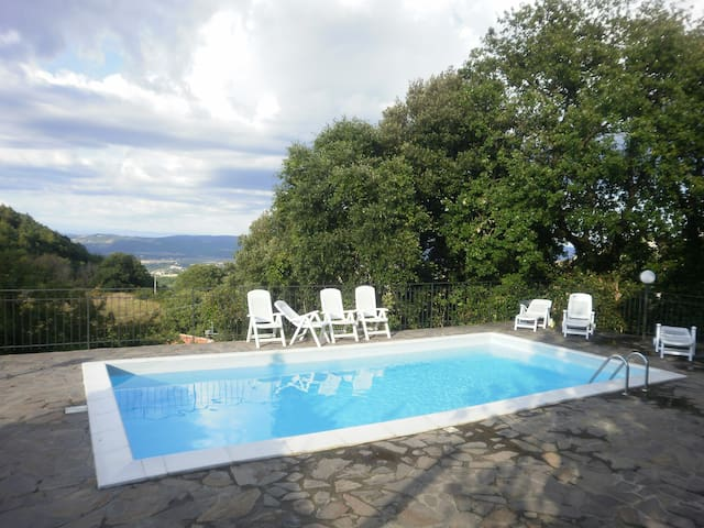 house with    swimming    pool - Chiusdino - Vila