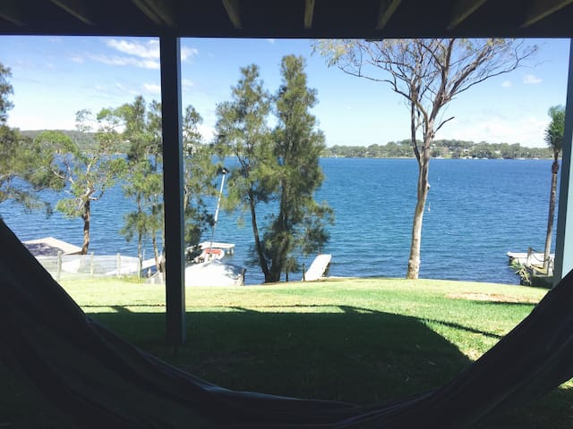 Great view from the hammock