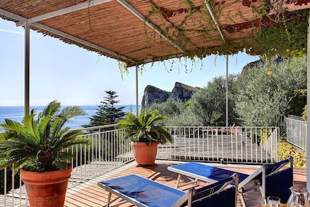 Azzurra - Cosy & Panoramic Apt! - Marina del Cantone - Apartment