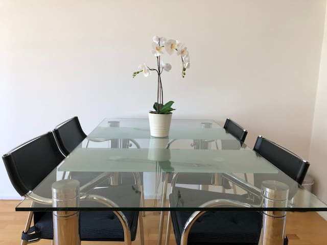 Sydney CBD apartment with 2beds 1bath for 4perople