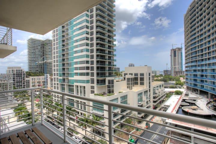 Trendy Miami Pad- Midtown Miami #609 (1BR) - Miami - Apartament