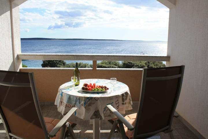 One bedroom apartment near beach Mandre, Pag (A-8655-c)