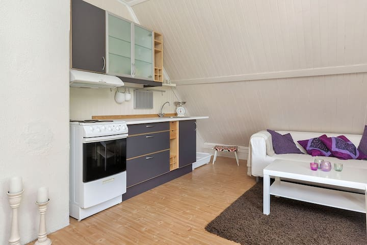 Cozy attic apartment with almost all you need - Trondheim - Loft