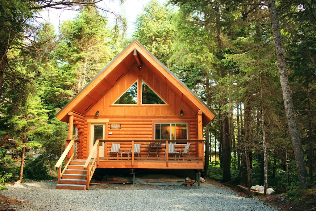 alyeska hideaway log cabins placer cabin cabins for