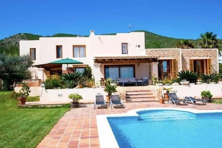Tranquil Villa in Ibiza with Swimming Pool