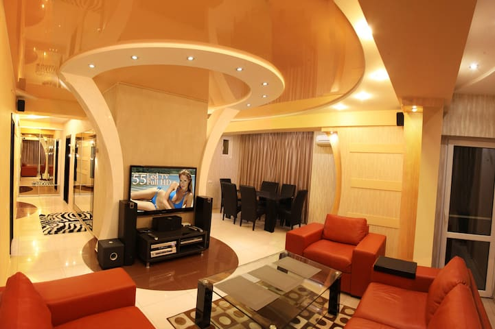 Large VIP Luxury Apartment with High-Tech Design.