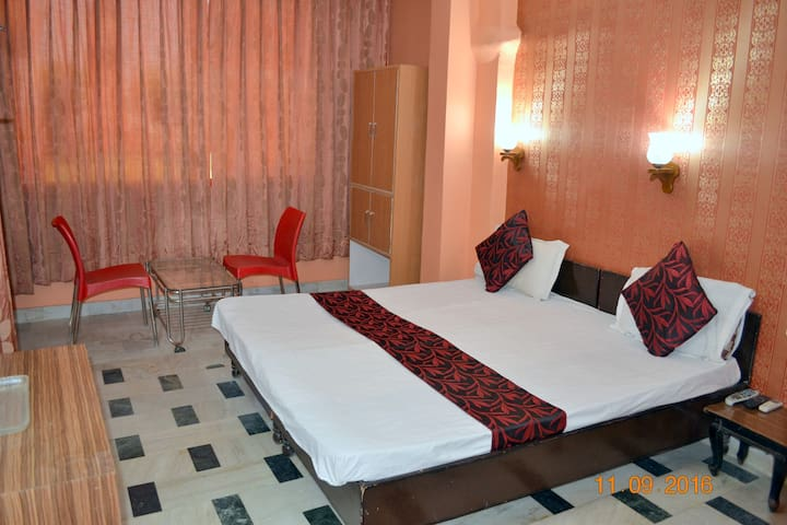 Deluxe Double Bed AC Ensuitein Ranibagh, Pitampura