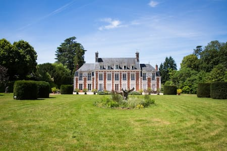 To rent a castle in Loire Valley - Chambon-sur-Cisse