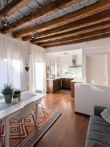 Central apartment with amazing roof garden - Treviso - Wohnung