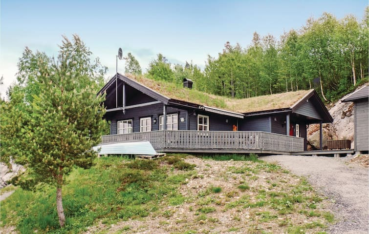Holiday cottage with 3 bedrooms on 80 m² in Vegårdshei
