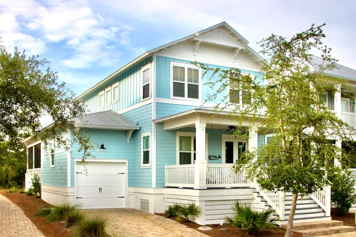 ⛱ Stylish Clean Beach House + Awesome Pool on 30A!