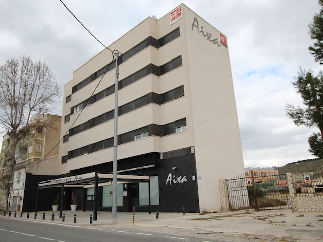 Functional apartment in Caravaca for 4 people.