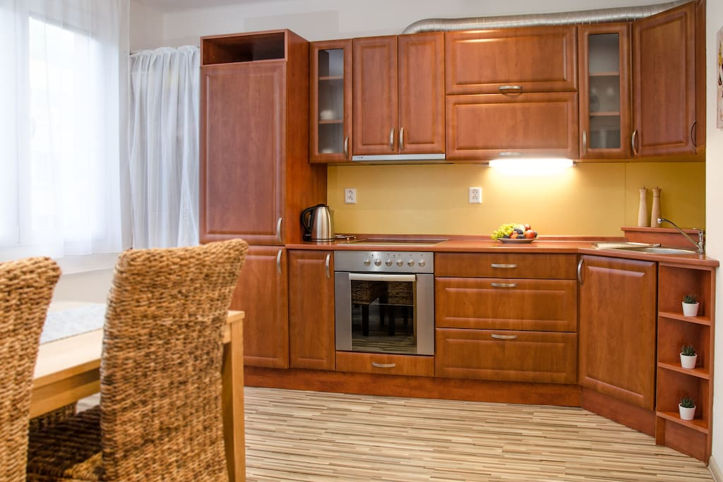 Fully equiped & spacious kitchen.