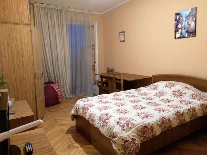 My cozy and sunny place in Rustavi