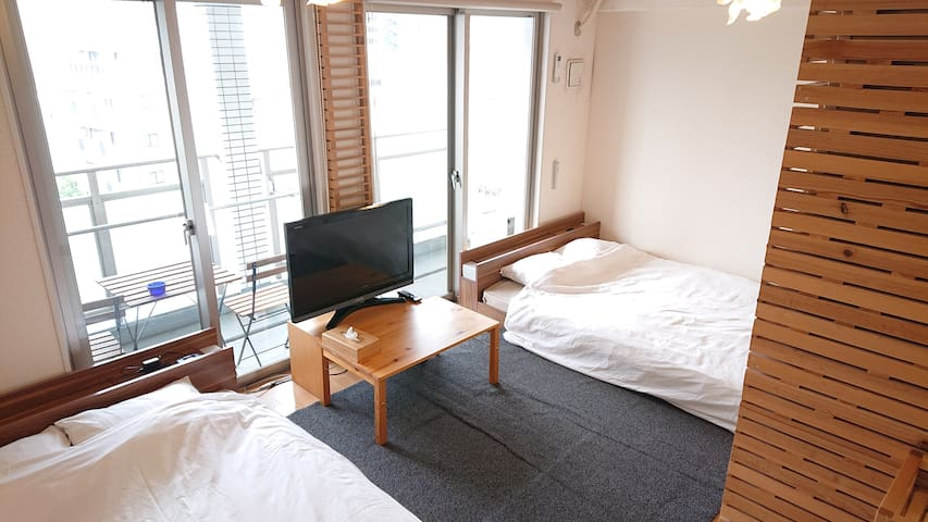 No.1 Best position in Hakata! 5min from Canal city