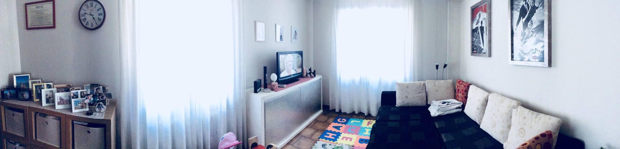 Spacious apartment in a convenient location.