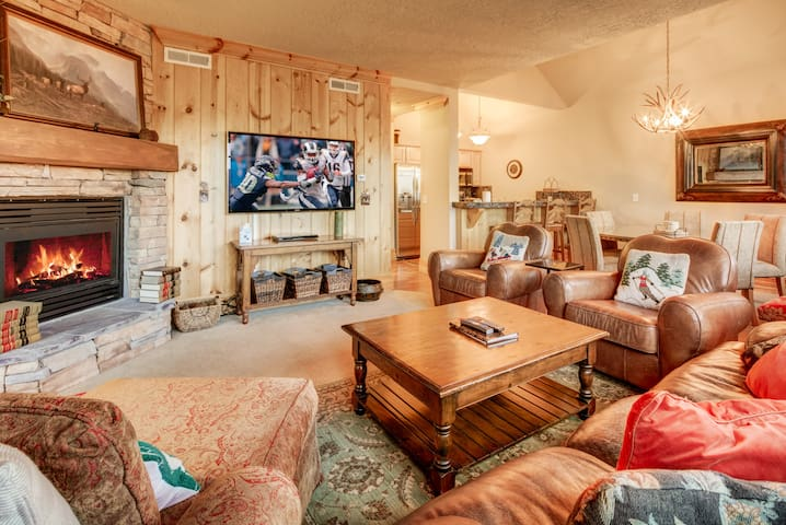 The Red Stag Lodge - 3BR/4BA, walk to Deer Valley