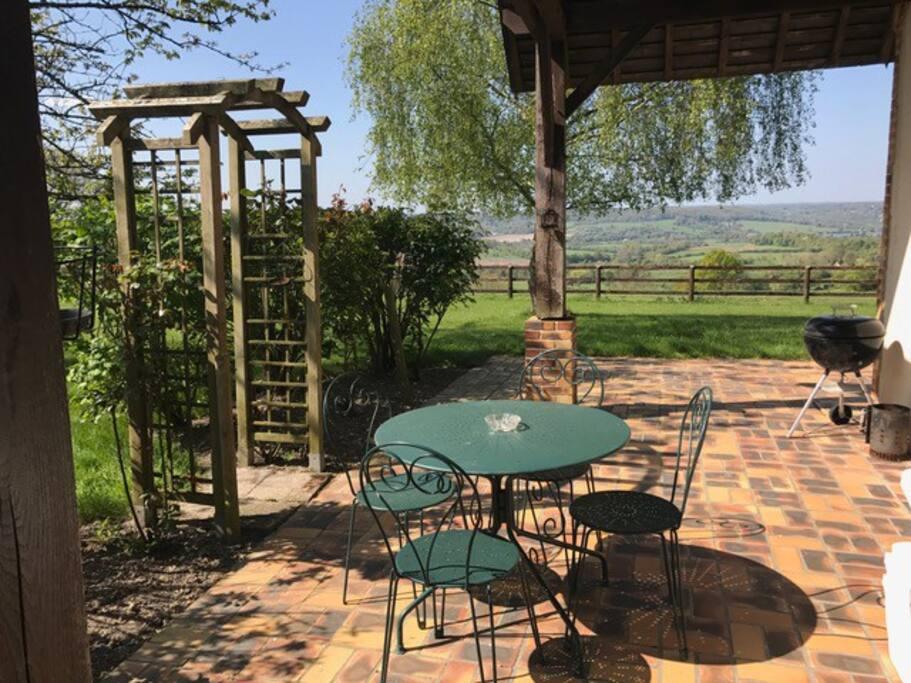 Le cottage pensione in affitto a blangy le ch teau for Stima sulla costruzione di una casa con 3 camere da letto