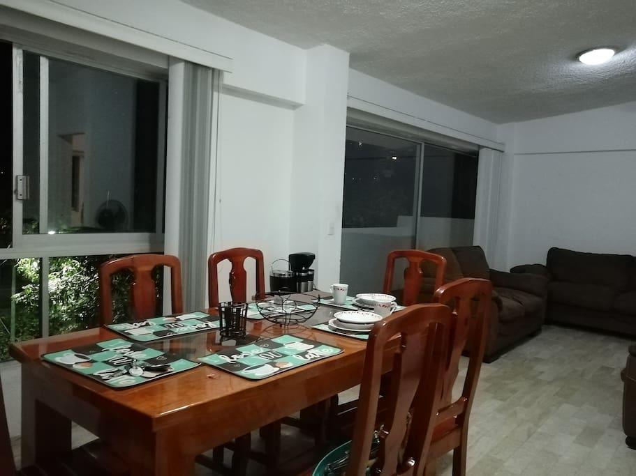 Comedor para 6 personas
