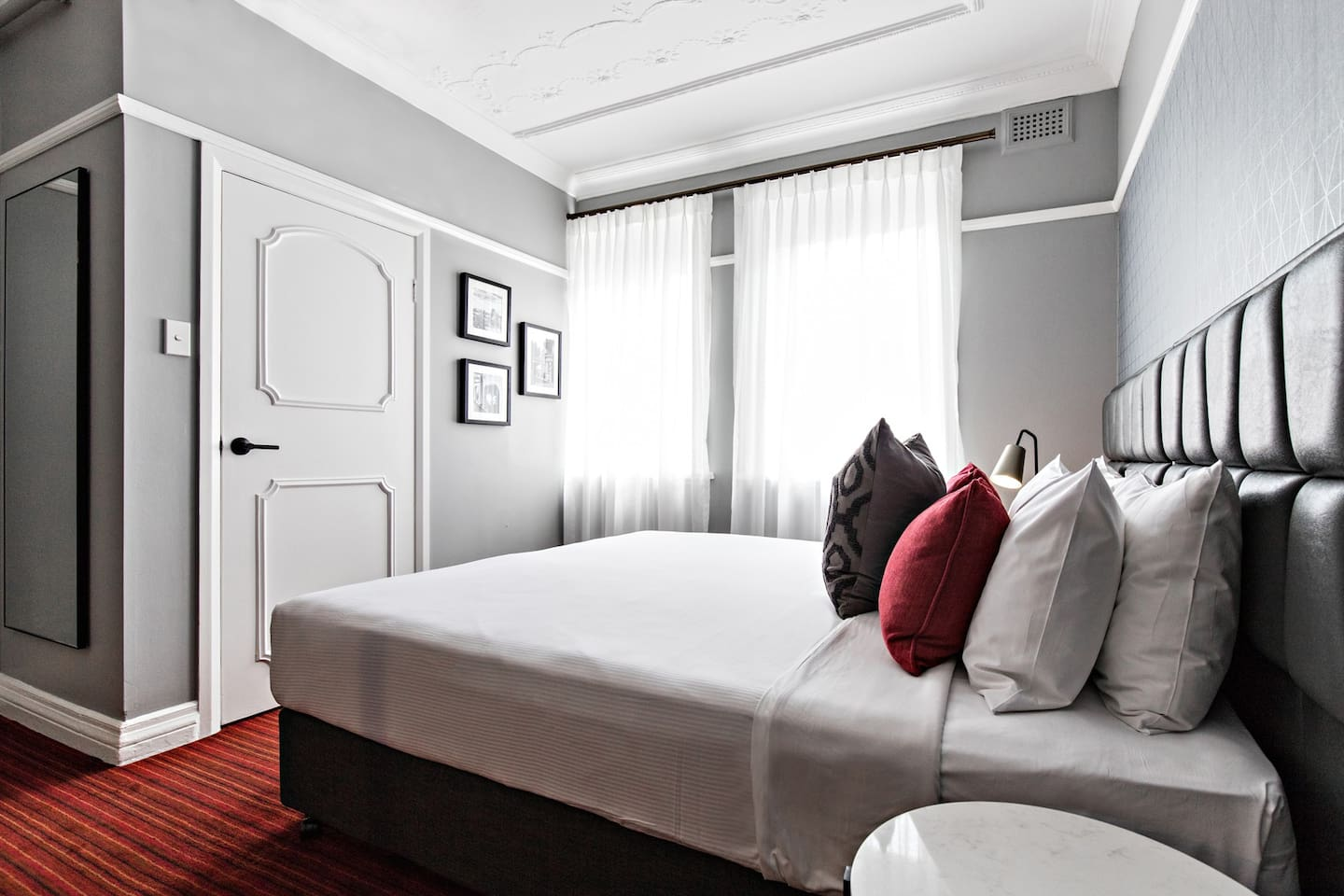 The King Room is a comfortable option for two guests